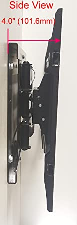 The Mount Store Tv Wall Mount For Tcl 65 Inch Class 4k 2160p Roku Smart Led Tv 65s405 Vesa 300x300mm Maximum Extension 26 Inches Electronics