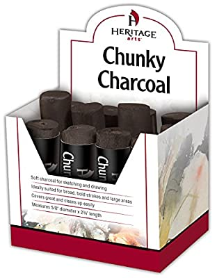 Heritage Arts CC12D Chunky Charcoal Display