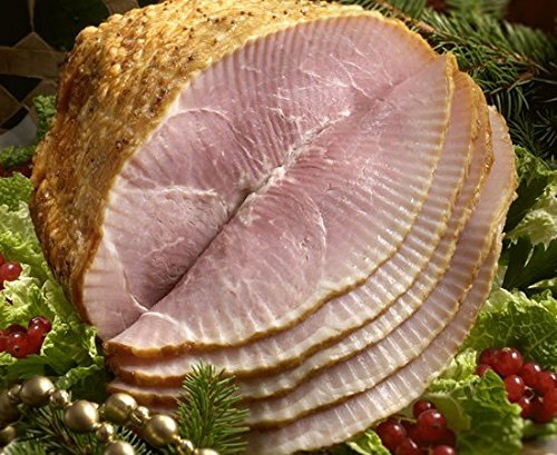 (Smithfield Cooked Honey Glazed Spiral Sliced Ham - Weight: 8-10 lbs)