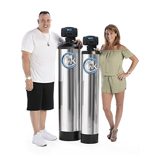 WAYDE KING WATER FILTRATION Maintenance Free Whole House Salt Free Water Filtration and Conditioning System with Built In Magnetic Ionizer