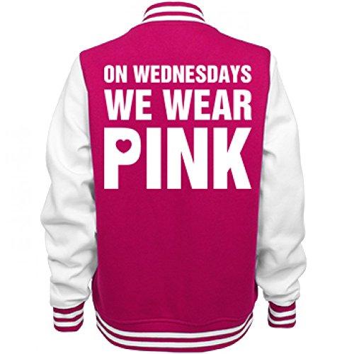 Pink Wednesdays Ladies Letterman Varsity product image