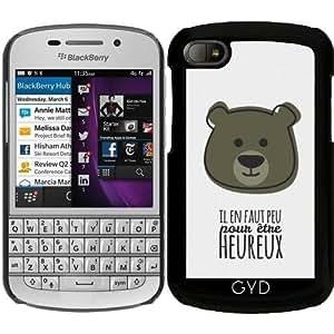 Funda para Blackberry BB Q10 - Cita - Para Ser Feliz by Asmo
