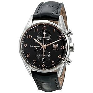TAG Heuer Men's CAR2014.FC6235 Analog Display Swiss Automatic Black Watch