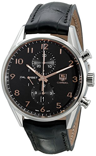 TAG Heuer Men's CAR2014.FC6235 Analog Display Swiss Automatic Black Watch