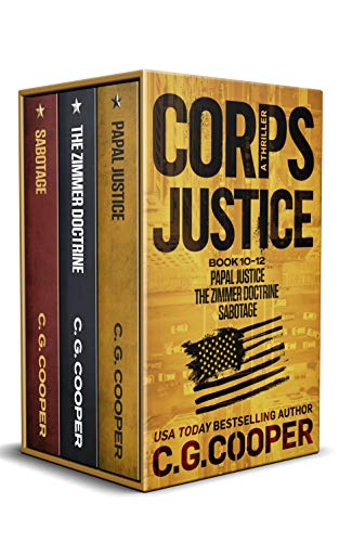 The Corps Justice Series: Books 10-12 (The Corps Justice Series Box Set Book 4)