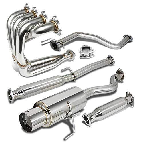 Honda Exhaust Header - Stainless Steel 4.5