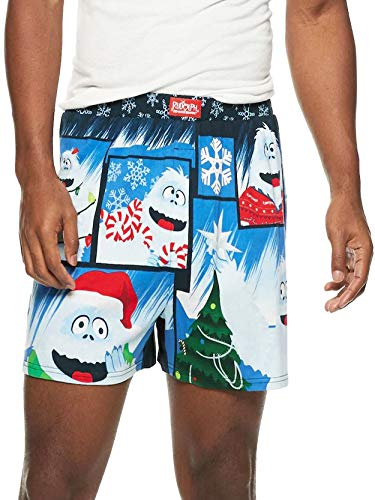 Rudolph the Red Nosed Reindeer Bumble Men's Christmas Boxer Shorts Underwear
