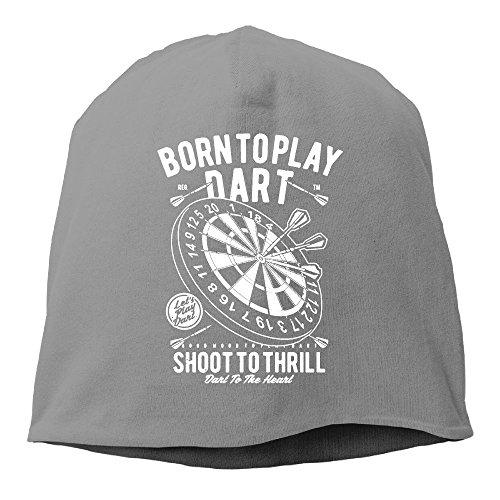 Dart Bay Green Packers (YUYU Momen Born to Play Dart Elastic Street Dance DeepHeather Beanies Knit Hat)