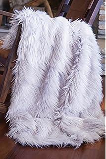 WATER MELON BLACK Super Luxury Faux Fur Fabric Material