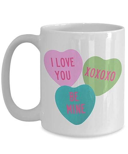 Amazon Com Valentine S Day Coffee Mug Valentines Gifts Candy