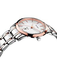 BUREI Women Watches Rose Gold Quartz with Sapphire Crystal Lens Stainless Steel Bracelet Elegant Classical Ladies...