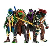Teenage Mutant Ninja Turtles Toys - Ninja Turtles Action Figures 4 PSC Set - TMNT Ninja Turtle Toys