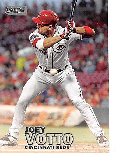 Joey Votto Baseball Card Cincinnati Reds 1b 2016 Topps Stadium