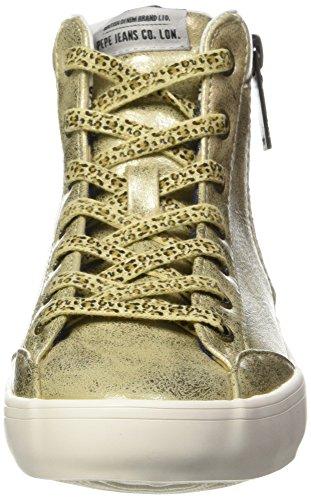 099gold Oro Alto Clinton Sneaker Jeans Donna Collo Pepe Combi A W8q4nUaza