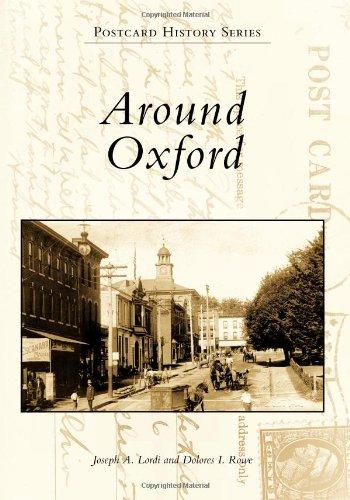 Read Online Around Oxford (Postcard History) PDF
