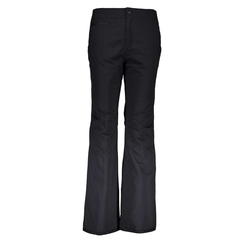 Obermeyer Sugarbush Stretch Long Womens Ski Pants - 14 Long/Black