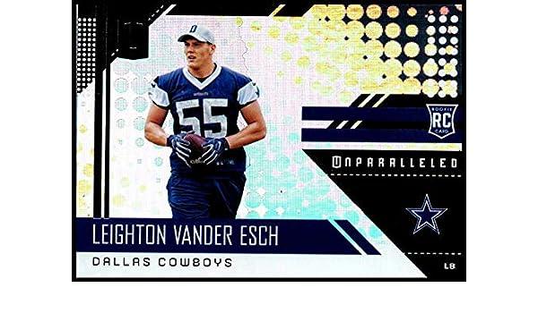 1d50a26a9 Amazon.com: 2018#292 Leighton Vander Esch NM-MT RC Cowboys: Collectibles &  Fine Art