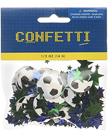 90ea6977f amscan International Confetti Football/ Soccer