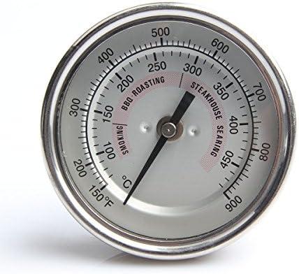 Medidor de temperatura para parrilla BBQ Impermeable para Kamado ...