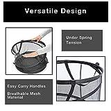 Smart Design Pop-Up Laundry Hamper w/ Easy Carry