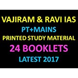 Vajiram and Ravi IAS Coaching, 24 Booklets ( Hardcopy)