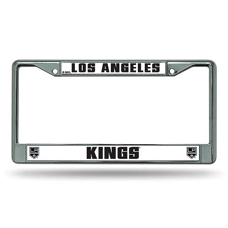 Amazon.com : Los Angeles Kings Chrome License Plate Frame ...