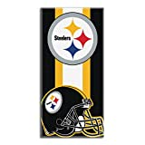 The Northwest Company NFL Pittsburgh Steelers Zone Read Beach Towel, 30-inch by 60-inch