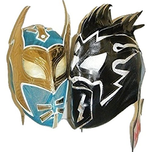 ag Team Lucha Dragons - Kalisto And Sin Cara Children Masks (Rey Mysterio Wrestling Mask)