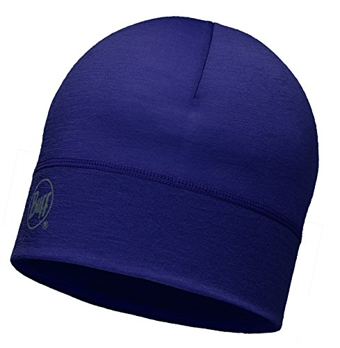 Talla Single unisex Layerblack unica Morado Negro Gorro Single Merino lana Buff Layerplum faAUZqv