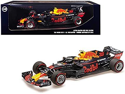 Amazon.com: RB14 # 33 Max Verstappen Winner Fórmula One F1 ...