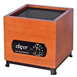 Clevr 8 Stage Ozone Generator Air Purifier, Filter, Ozone, Ionic, UV, Plasma, Home Use, 1000 Square Feet Coverage allergies allergen reducer | 1 YEAR LIMITED WARRANTY