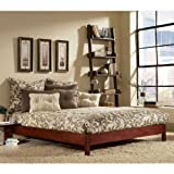 Murray Twin/Full Bed Rails and Support (Mahogany) By Fashion Bed Group