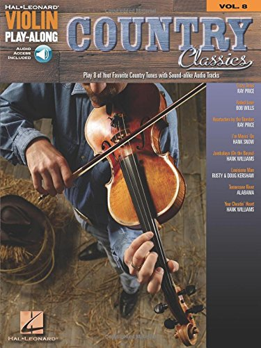Country Classics: Violin Play-Along Volume 8 (Hal Leonard Violin Play-along)