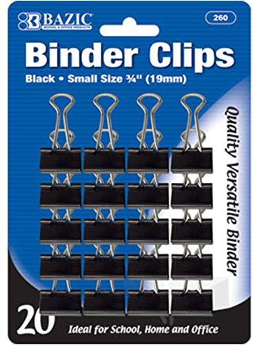 Small Size Binder Clips 144 pcs SKU# 1931426MA