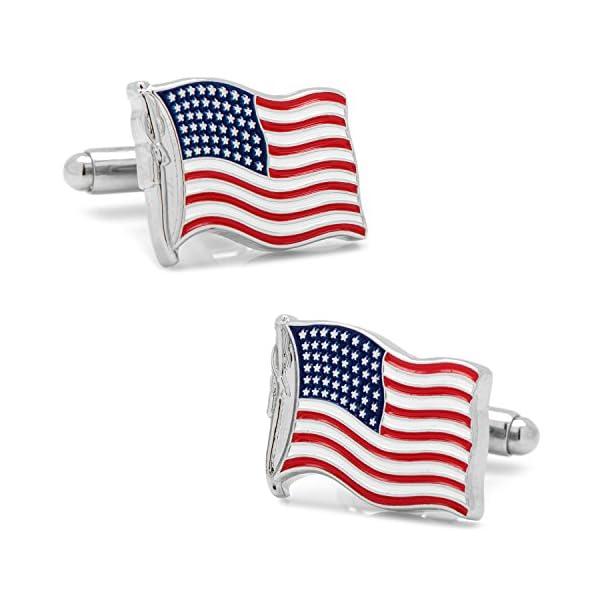 Cufflinks-Inc-Waving-American-Flag-Cufflinks
