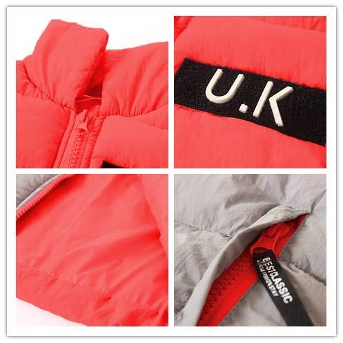 JooNeng Baby Boy Girl Down Vest Waistcoat Puffer Sleeveless Winter Jackets Outerwear