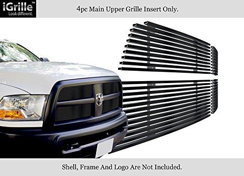 APS Fits 2010-2012 Dodge Ram 2500/3500 Stainless Steel Black Billet Grille #D66864J