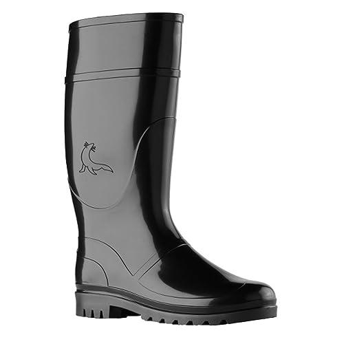 nuevo lanzamiento límpido a la vista comprar Rainwear-Shop - Botas de goma para hombre negro negro