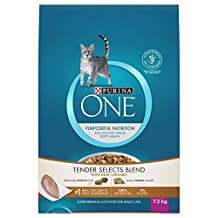 Purina ONE® Tender Selects Blend with Real Chicken Adult Cat Food 7.2kg Bag