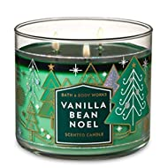 Bath and Body Works Vanilla Bean Noel 2018 Candle