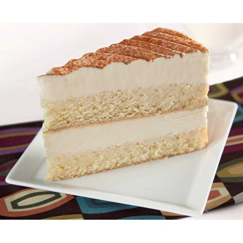 Elis Cheesecake Tres Leches Layer Cake Dessert, 68 Ounce - 4 per case. ()