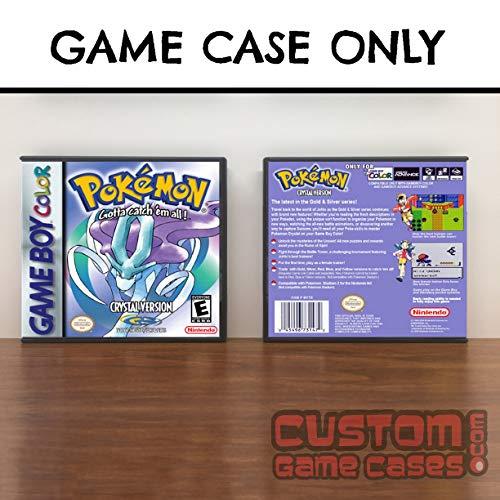 (Gameboy Color Pokémon Crystal - Case)