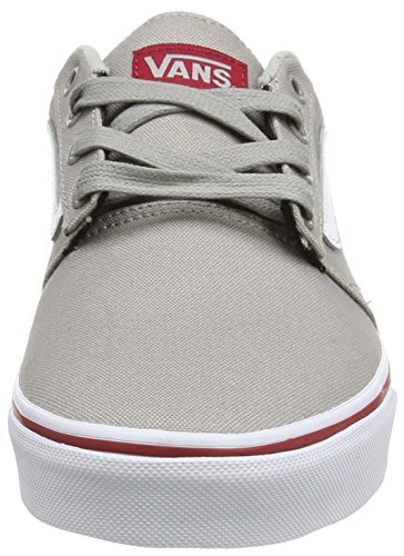 Grau Low Top Gray Herren Red Vans Chapman Varsity Stripe wOxZnqS