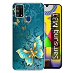 Gismo Designer Printed Soft Silicone Pouch Back Case Mobile Cover for Samsung Galaxy M31 / F41 / M31 Prime/for Boys and…