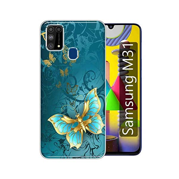 Gismo Designer Printed Soft Silicone Pouch Back Case Mobile Cover for Samsung Galaxy M31 / F41 / M31 Prime/for Boys and… 2021 August Back Cover Type & Material: Soft Silicone TPU designer back cover for Samsung Galaxy M31 / F41 / M31 Prime. Designs are printed on the backside of the soft case. Anti-Scratch and Anti-Finger: Gismo's back covers are smudge-free and anti-scratch so that your cover always feels new and looks stylish. Easy Access to All Ports and Buttons: Gismo's back covers fit with 100% compatibility so that you can easily access all the ports and buttons after easy installation of the cover.