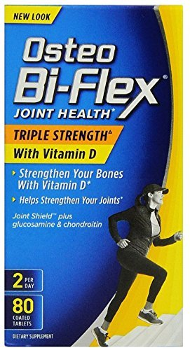 Osteo Bi-Flex Advanced Triple Strength with Vitamin D3, Caplets 80 ea by Osteo Bi-Flex
