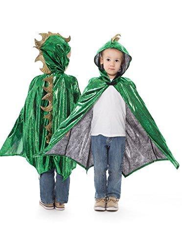 Little Adventures Deluxe Childrens Dragon Cloaks/Cape -