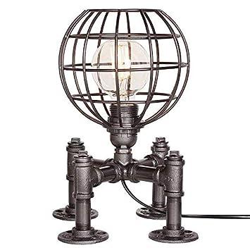▷ * Lámpara de mesa industrial vintage Lámpara de mesa ...