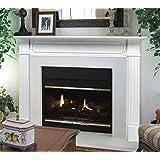 "Pearl Mantels 520-48 Berkley 48"" Paint Grade Fireplace Mantel, White"