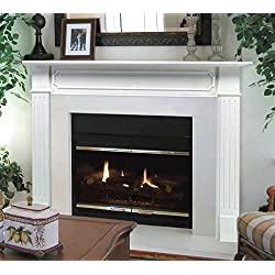 Pearl Mantels 520-48 Berkley 48-Inch Paint Grade Fireplace Mantel, White